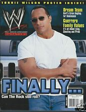 The Rock WWE Magazine March 2003 WWF Dwayne Johnson