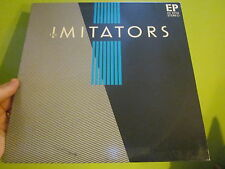 THE IMITATORS EP RARE PRIVATE PRESS SO CAL SYNTH NEW WAVE 84 CLASSIC 80S SYNTH