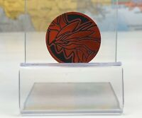 NEW Yveltal GX RED Collector Coin OFFICIAL Pokemon 2018