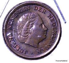 PAYS-BAS / NETHERLANDS 1 cent 1950 bronze KM#180   AC28