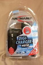 Ansmann Digi-Charger Vario Universal Charger AA/AA Battery Part No.5025113