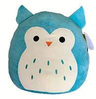 Squishy Squishmallow Hoot Blue Owl Stuffed Animal Plush Soft Gift Toy Boys Girls