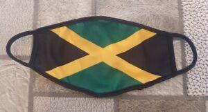 Caribbean Jamaica Jamaican Face Coverings - Reusable Trendy Face Masks