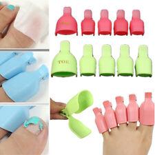 Best Soak Off Clip Caps Gel Polish Nail Art Toe Reusable Makeup CleanerTools NEW