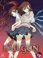 A Certain Scientific Railgun . The Complete Season 1 . Anime . 4 DVD . NEU . OVP