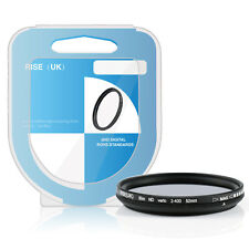 High Quality 52mm Fader Variable ND Filter Adjustable Neutral Density ND2-400