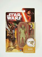 "Hasbro Star Wars The Force Awakens 3.75"" Figure Desert Mission Constable Zuvio"