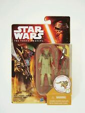 "Hasbro Star Wars The Force Awakens 3.75"" Figure Desert Mission Constable Zuvio"