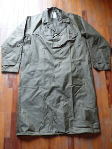 NEW REAL french army foreign legion F1 M64 od green raincoat trench coat M + pin