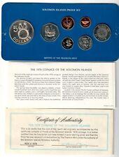 solomon island 1978 prrof set 1 cent - 5 $ in box SUPER OFFERTA