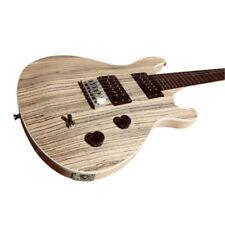 Guitares électriques transparents bois massif