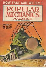 Popular Mechanics--March 1941 How Fast can we fly-----18
