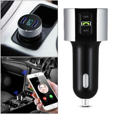 USB LCD Car Bluetooth FM Transmitter Wireless Radio Adapter Charger MP3 Player