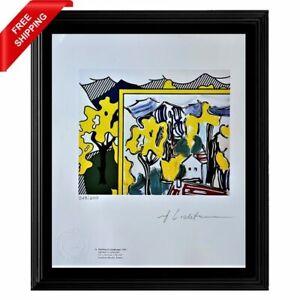 Roy Lichtenstein Original Hand Signed Print with COA