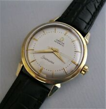 LOVELY CONDITION 195O's OMEGA SEAMASTER, Automatic, SOLID GOLD CAPPED, Cal 471