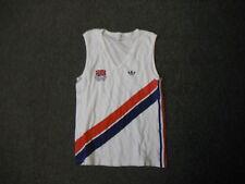 """ADIDAS CAMPIONATI EUROPEI DI VIENNA 1983 Piccolo/Medio 38"""" Athletics Vest"""