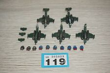 Warhammer Epic 40k Imperial Guard Marauder Bomber x 5 LOT 119