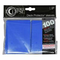 Ultra Pro Matte Deck Protector Sleeves ECLIPSE PACIFIC BLUE 100ct MAGIC POKEMON