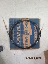 "OMC 377376 16 ft Cable Throttle Shift D48296 Morse 192"" NOS"