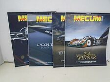 Mecum Auction Monthly Magazine 2015 Car Automobile Auto 4 September to December