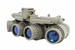 SOFTAIR TOY DUMMY QUAD NIGHT VISION GOGGLES TAN SAND DE BROWN GPNVG 18 UK NVG