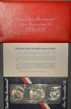 1976 United States 1776 Bicentennial Anniversary Silver Uncirculated Set w/ OGP