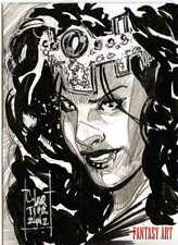 Fantasy Art Sketch Card by Francois Chartier /2 - Unstoppable Loaded Pack