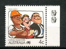 Australia 1988 sg1114, 4c di vivere insieme 2 KOALA RISTAMPA A DESTRA Gomma integra, non linguellato #a47729