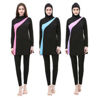 Modesty Women Swimsuit Muslim Swimwear Full Cover Beachwear Burkini Swim Clothes
