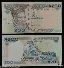 Nigeria Banknote 200 Naira 2009 UNC