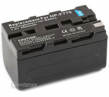 Battery for Sony NP-F750 NP-F570 DCR-TRV120 DCR-TRV130 DCR-TRV520 CCD-TRV37 New
