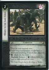 Lord Of The Rings CCG Card TTT 4.U148 Down To The Last Child
