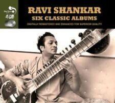 Six Classic Albums by Ravi Shankar (CD, Jul-2013, 4 Discs, Real Gone Jazz)