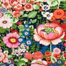 Fabric by the Yard Alexander Henry Flores De Coyoacan Dk Marine