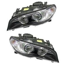 For BMW E46 330Ci 325Ci Set Of Right & Left Halogen Headlights Assembly OEM