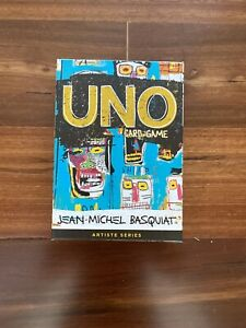 Uno Jean-Michel Basquiat Artiste Art Series Card Game Limited Edition Sealed Box