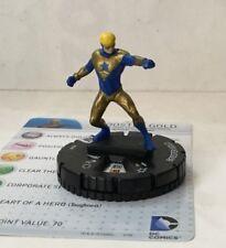 HeroClix World's Finest #008  BOOSTER GOLD  DC