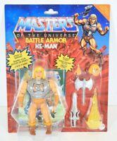 Mattel Masters of the Universe Origins Battle Armor He-Man Figure MOTU New