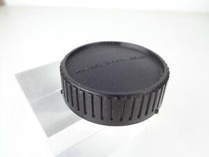 Bouchon arrière original pour objectifs MINOLTA MC/MD lens cap genuine capuchon