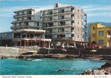 CYPRUS POSTCARD KYRENIA HESPERIDES HOTEL C 1969-70. RARE CARD