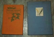 2 First Edition Books by Marjorie Medary - Orange Winter & A Herring Gull
