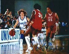 Signed 8x10 Nancy Lieberman Phoenix Mercury Autographed photo - w/Coa