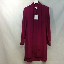 DVF PURPLE SHIRT  Dress SIZE 10 UK (6 US ON LABEL)