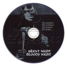 Silent Night, Bloody Night (1972) Horror, Mystery, Thriller Movie on DVD