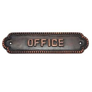 Modern NO CIRCULARS Sign For House Office Public Places Toilet PULL Door Plaque