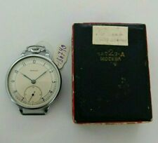 ☭ NOS Pocket Watch Molnija 1954s 15 Jewels 2 MChZ USSR Vintage Soviet Original