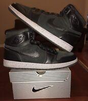 Nike Air Jordan Retro 1 NYC High Black Grey Gym Red 23NY PSNY 13 Y 2 3 4 5 6 7 8