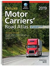 Rand McNally 2019 Deluxe Motor Carriers' Road Atlas (Rand McNally Motor...