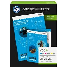 1CC21AE-953-XL KIT CARTA E CARTUCCE ORIGINALI HP OFFICEJET PRO 8210
