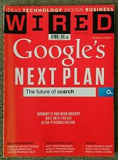 WIRED Magazine UK Edition Google's Next Plan January 2013 RRP £3.99